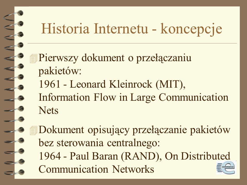 Historia Internetu - koncepcje