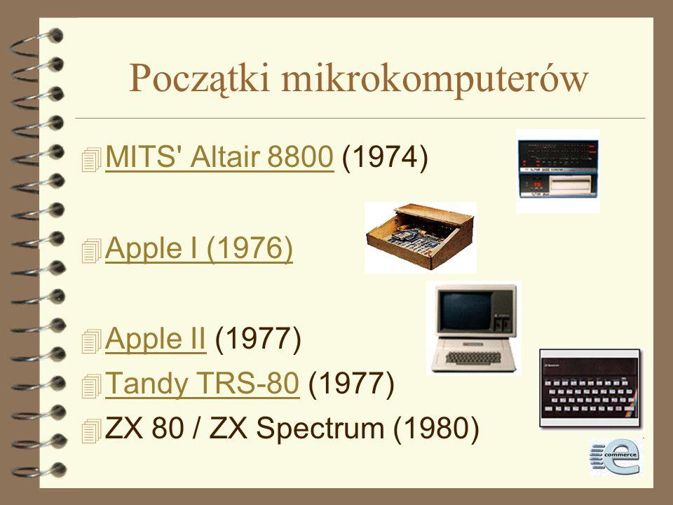 Początki mikrokomputerów