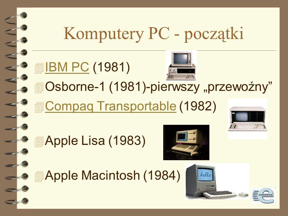 Komputery PC - początki