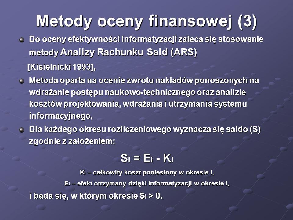 Metody oceny finansowej (3)