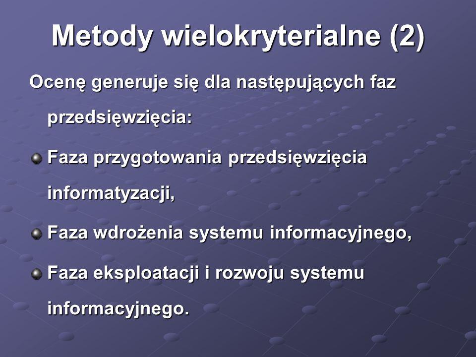 Metody wielokryterialne (2)