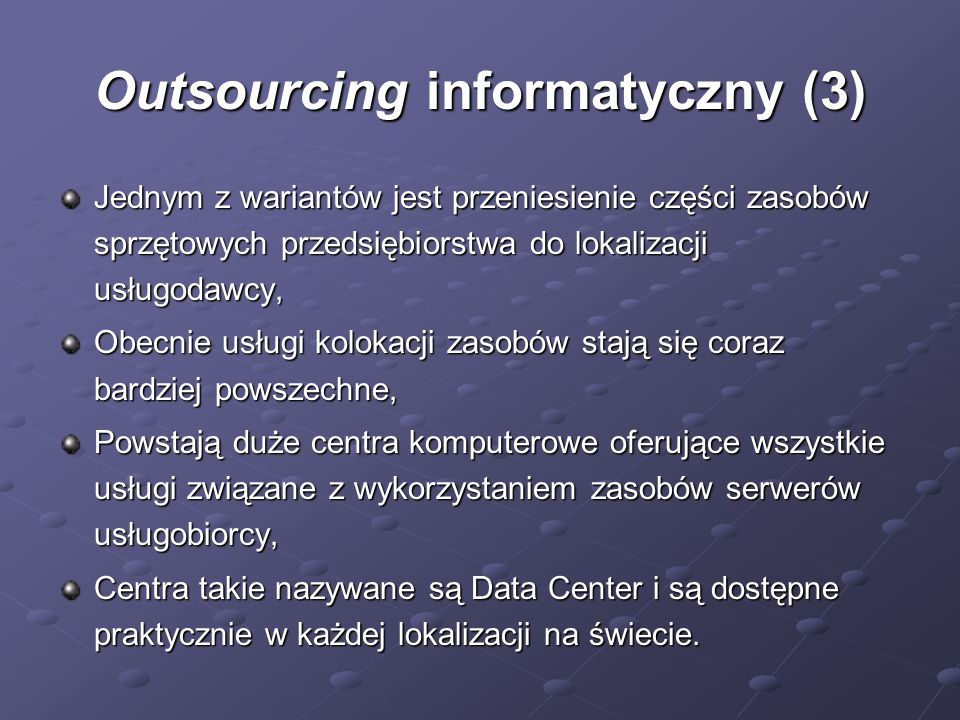 Outsourcing informatyczny (3)