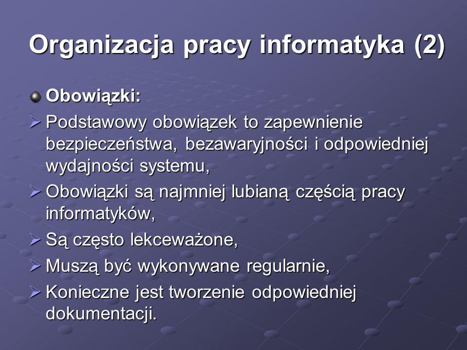 Organizacja pracy informatyka (2)