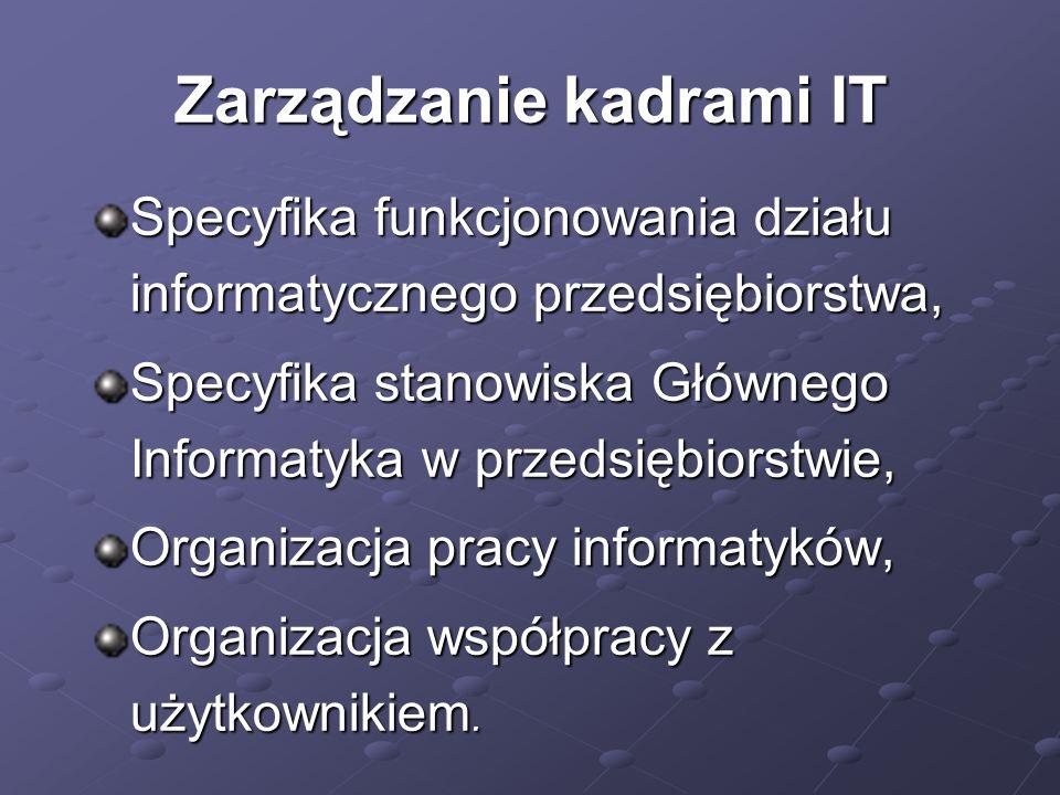 Zarządzanie kadrami IT