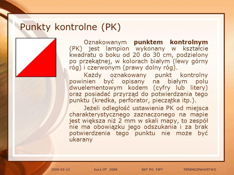 Punkty kontrolne (PK)