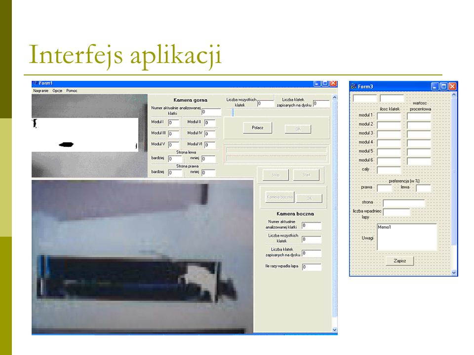 Interfejs aplikacji
