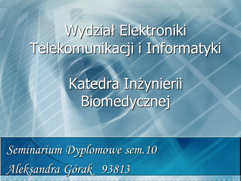 Seminarium Dyplomowe sem.10 Aleksandra Górak 93813