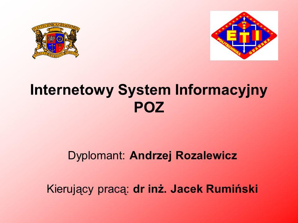 Internetowy System Informacyjny POZ