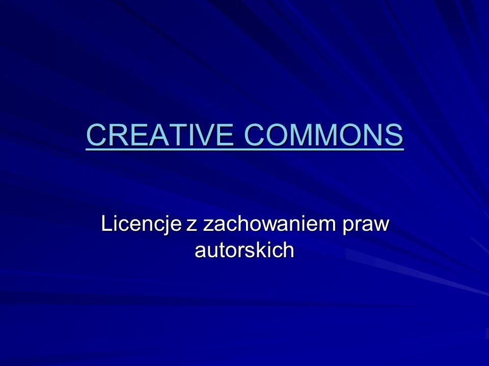 Licencje z zachowaniem praw autorskich