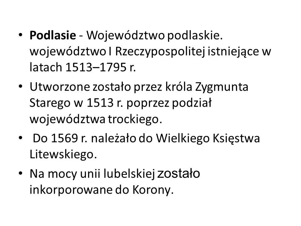 Podlasie - Województwo podlaskie