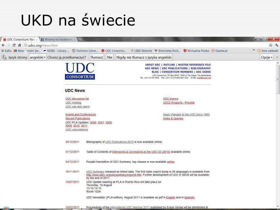 UKD na świecie