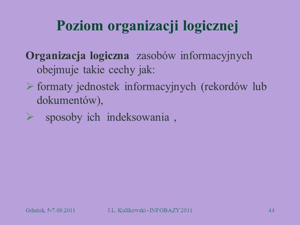 Poziom organizacji logicznej