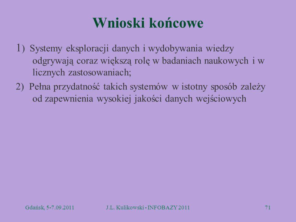J.L. Kulikowski - INFOBAZY 2011