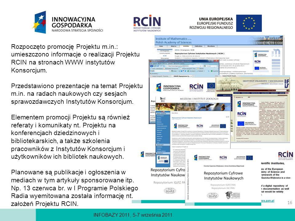 Rozpoczęto promocję Projektu m. in