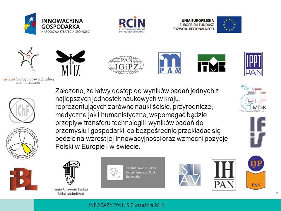 Założono, że łatwy dostęp do wyników badań jednych z najlepszych jednostek naukowych w kraju, reprezentujących zarówno nauki ścisłe, przyrodnicze, medyczne jak i humanistyczne, wspomagać będzie przepływ transferu technologii i wyników badań do przemysłu i gospodarki, co bezpośrednio przekładać się będzie na wzrost jej innowacyjności oraz wzmocni pozycję Polski w Europie i w świecie.