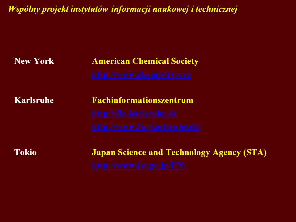 Wspólny projekt instytutów informacji naukowej i technicznej