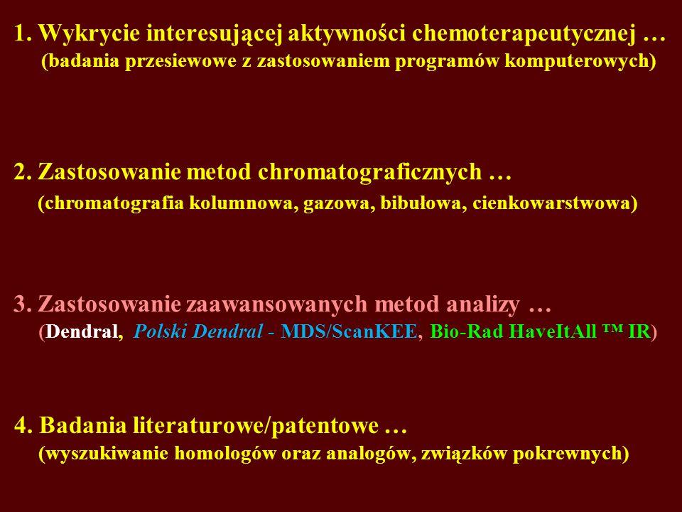 2. Zastosowanie metod chromatograficznych …