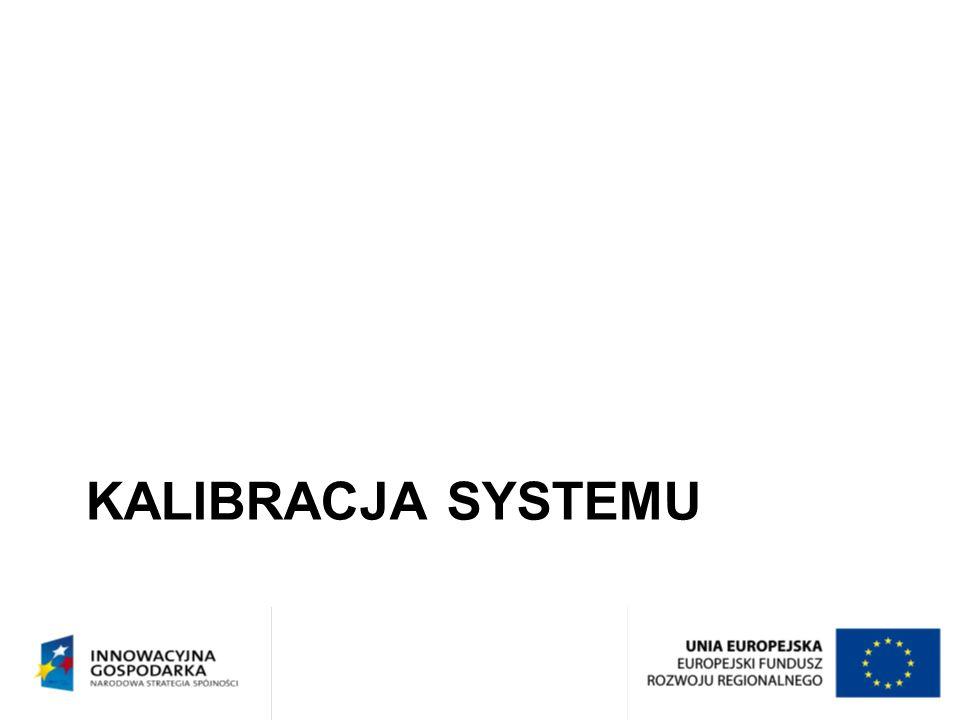 Kalibracja systemu