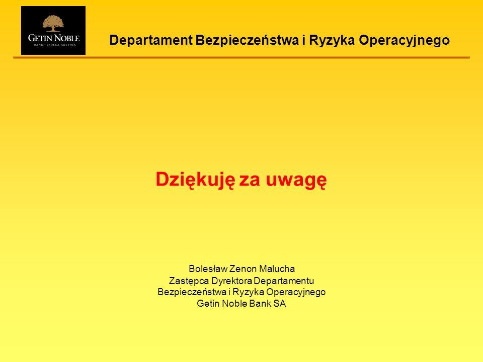 Departament Bezpieczeństwa i Ryzyka Operacyjnego