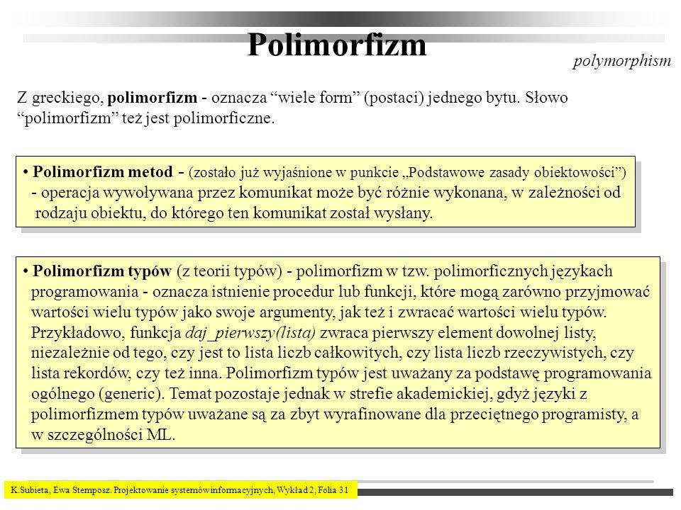 Polimorfizm polymorphism