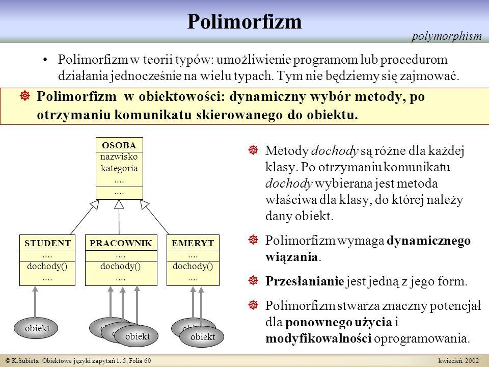 Polimorfizm polymorphism.