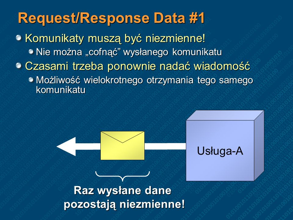 Request/Response Data #1