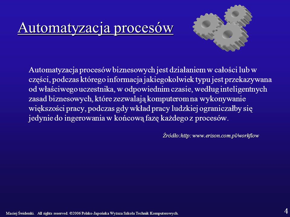 Automatyzacja procesów