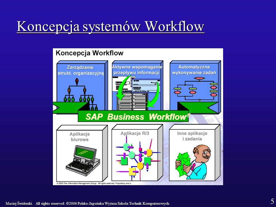 Koncepcja systemów Workflow