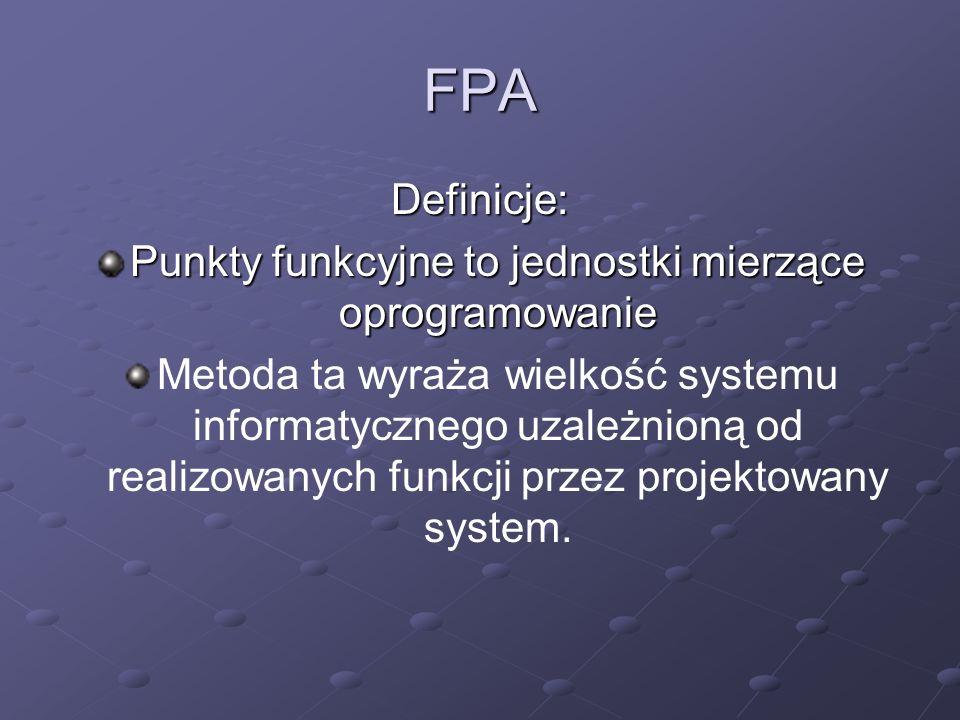 Punkty funkcyjne to jednostki mierzące oprogramowanie