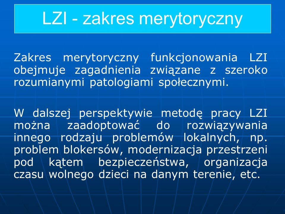 LZI - zakres merytoryczny