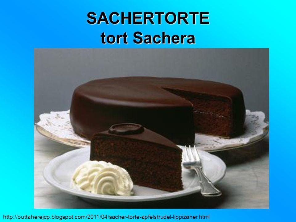 SACHERTORTE tort Sachera