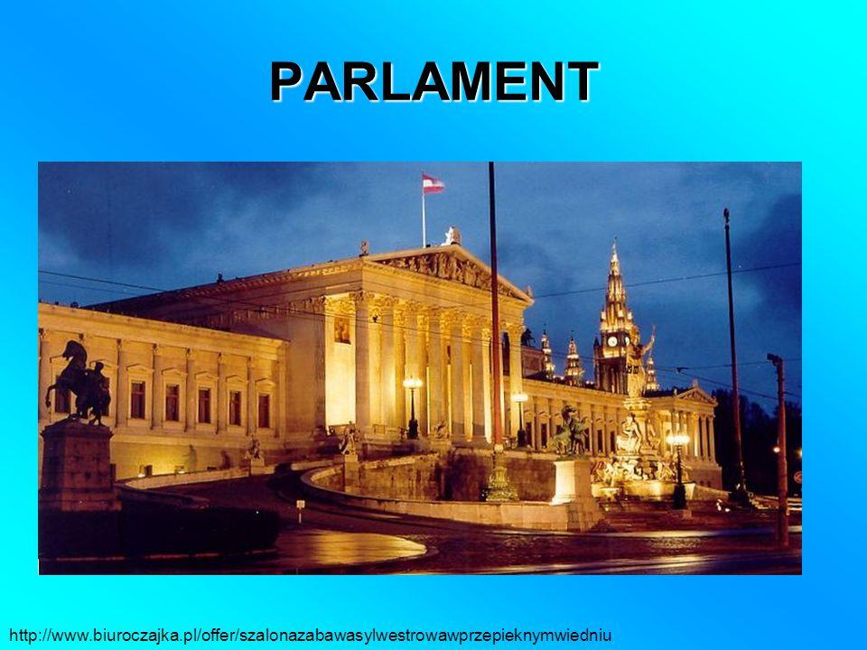 PARLAMENT http://www.biuroczajka.pl/offer/szalonazabawasylwestrowawprzepieknymwiedniu