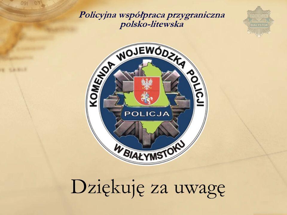 Policyjna współpraca przygraniczna polsko-litewska