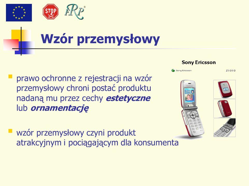 Wzór przemysłowy Sony Ericsson.