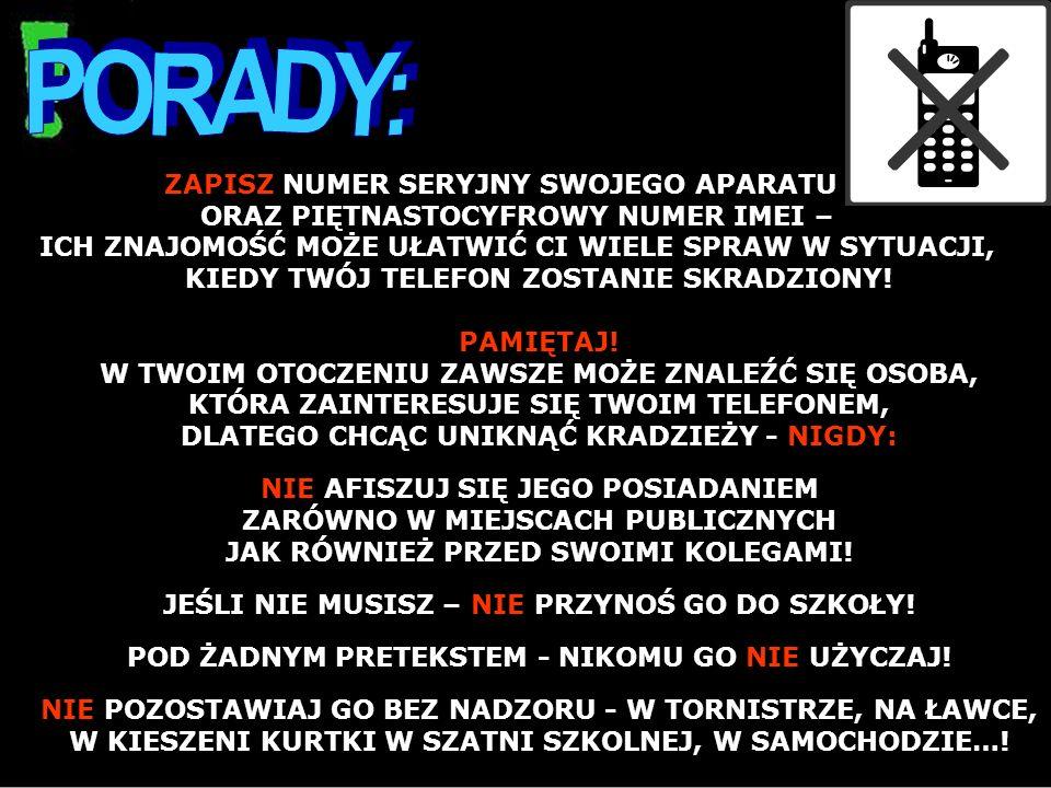 PORADY: