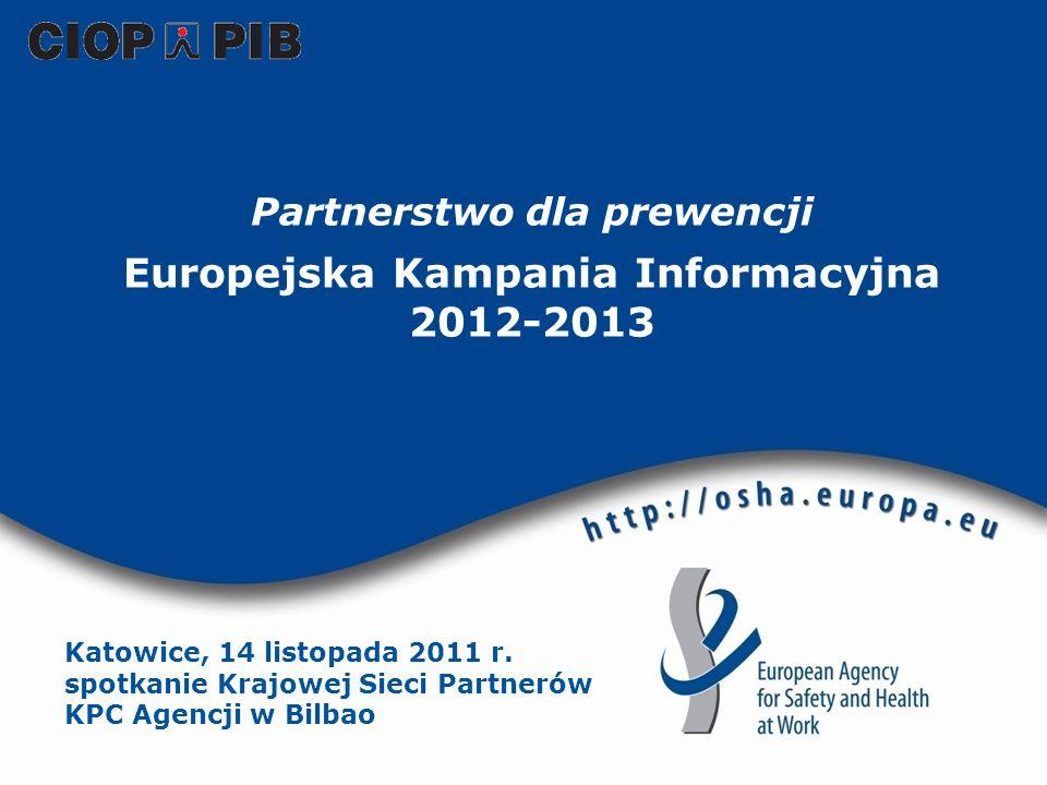 Partnerstwo dla prewencji Europejska Kampania Informacyjna