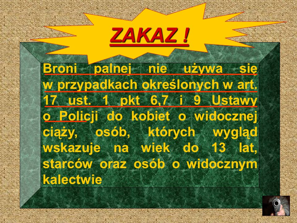 ZAKAZ !