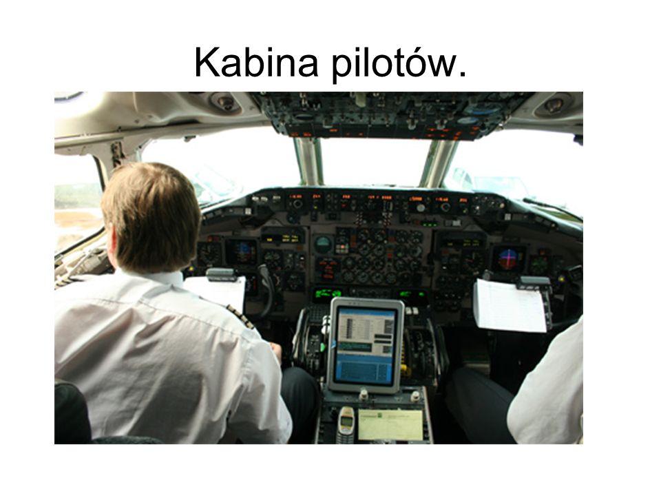 Kabina pilotów.