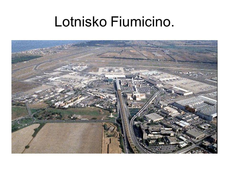 Lotnisko Fiumicino.