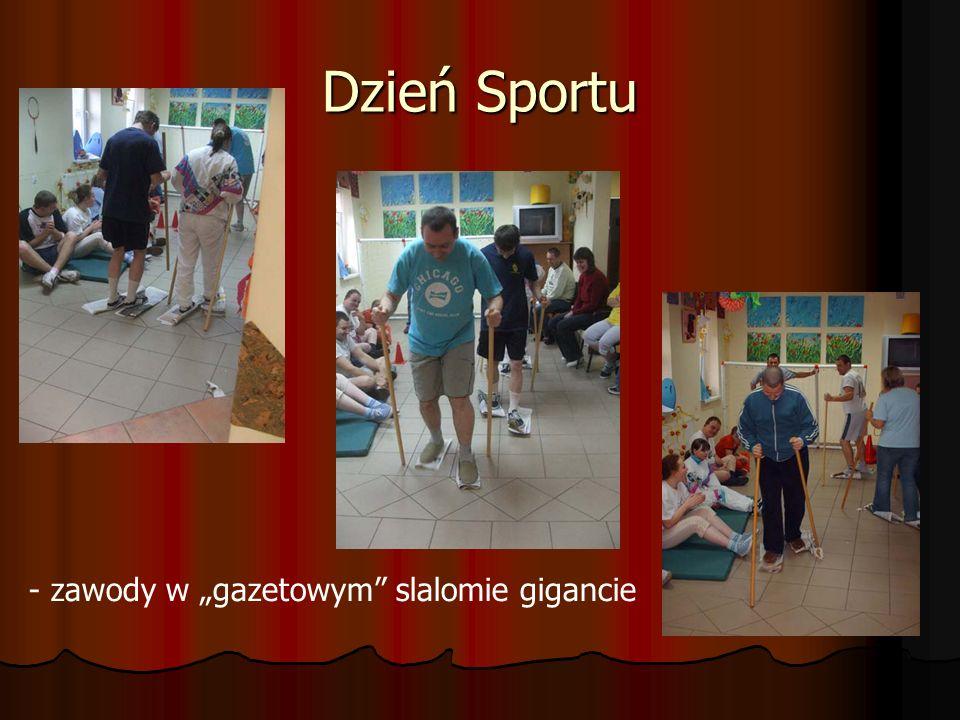 """Dzień Sportu - zawody w """"gazetowym slalomie gigancie"""