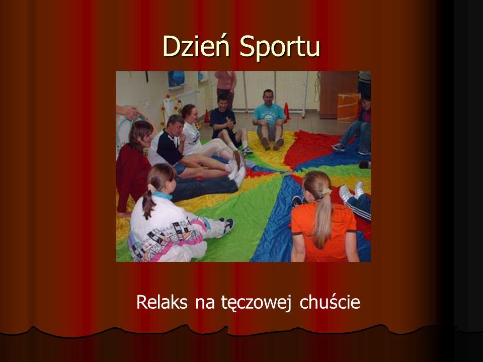 Dzień Sportu Relaks na tęczowej chuście
