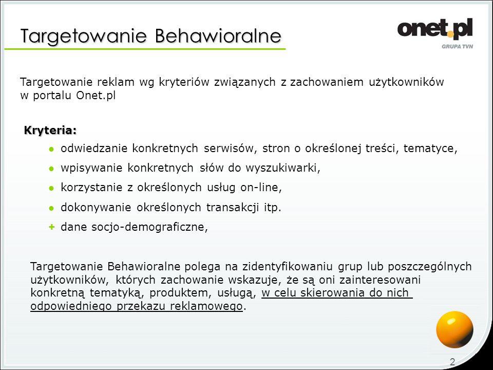 Targetowanie Behawioralne