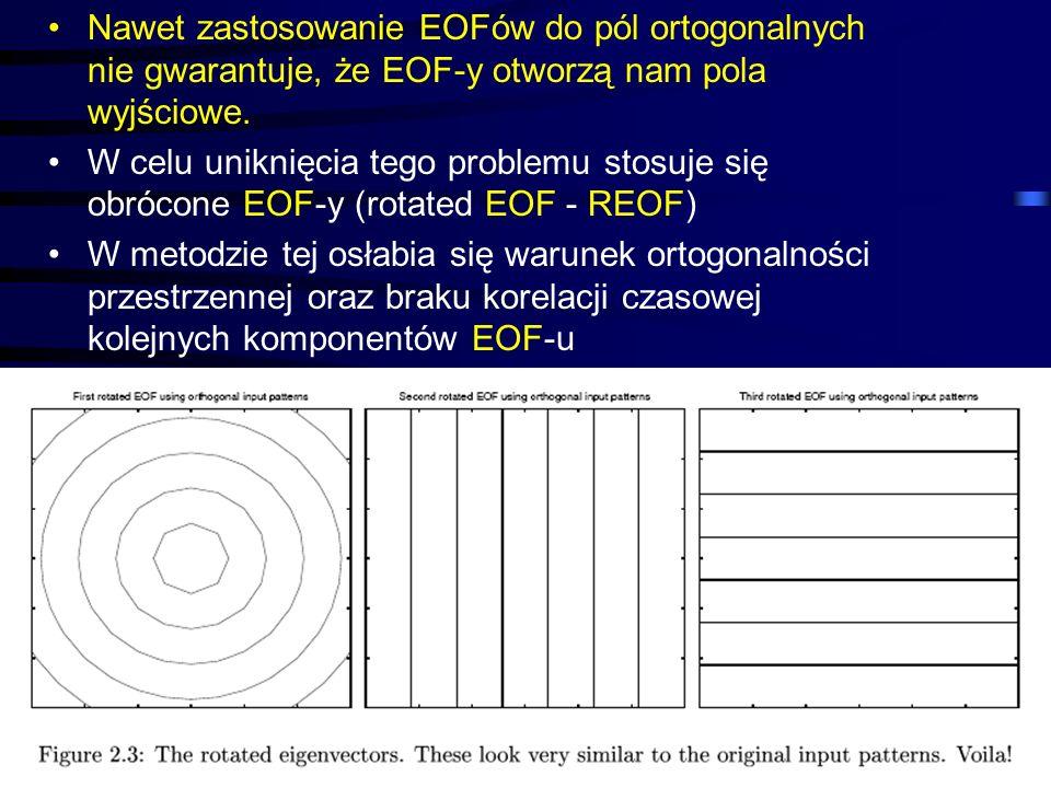 Nawet zastosowanie EOFów do pól ortogonalnych nie gwarantuje, że EOF-y otworzą nam pola wyjściowe.