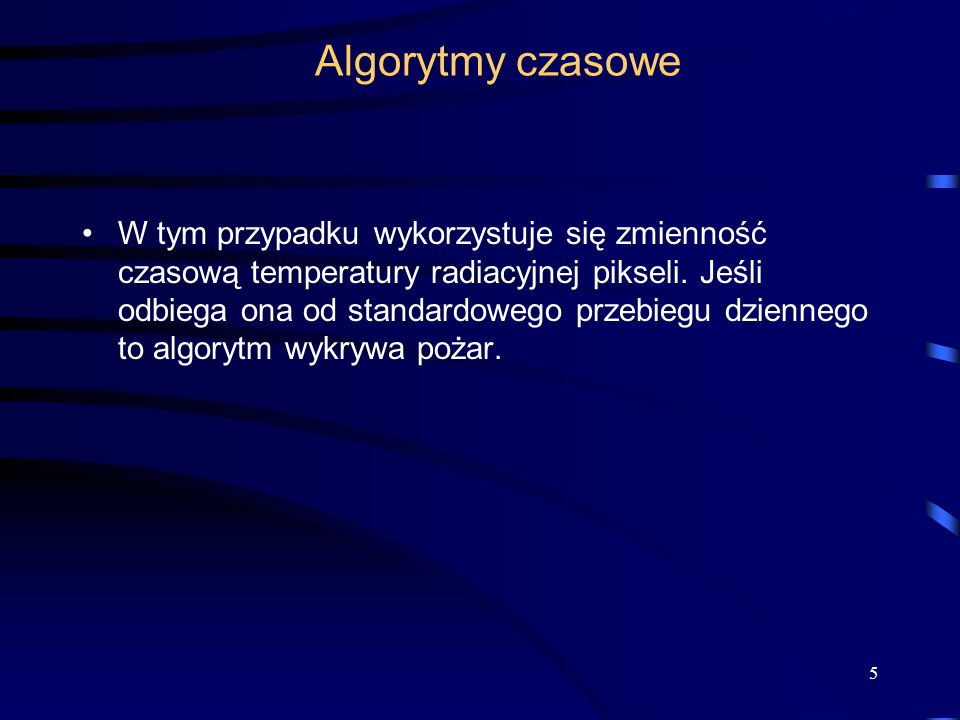 Algorytmy czasowe