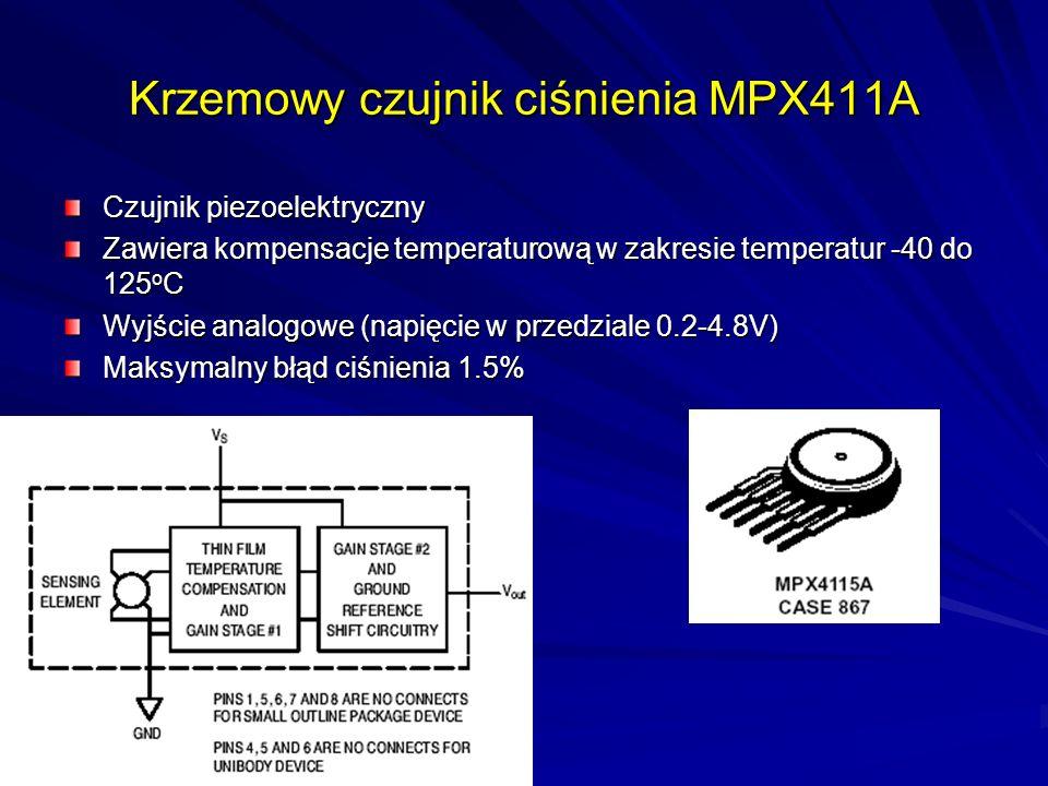 Krzemowy czujnik ciśnienia MPX411A