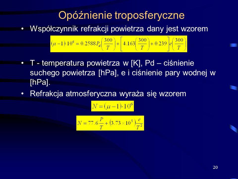 Opóźnienie troposferyczne