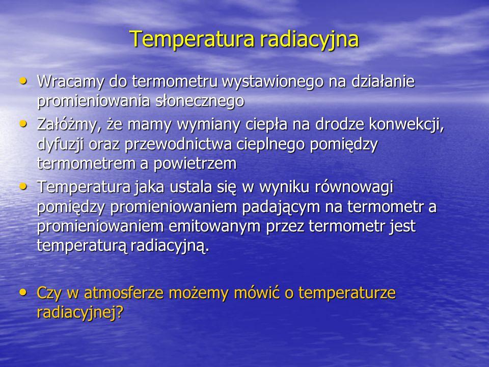 Temperatura radiacyjna