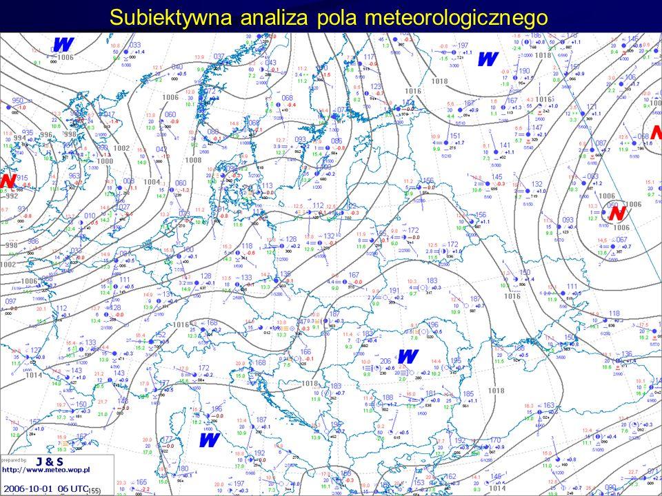 Subiektywna analiza pola meteorologicznego