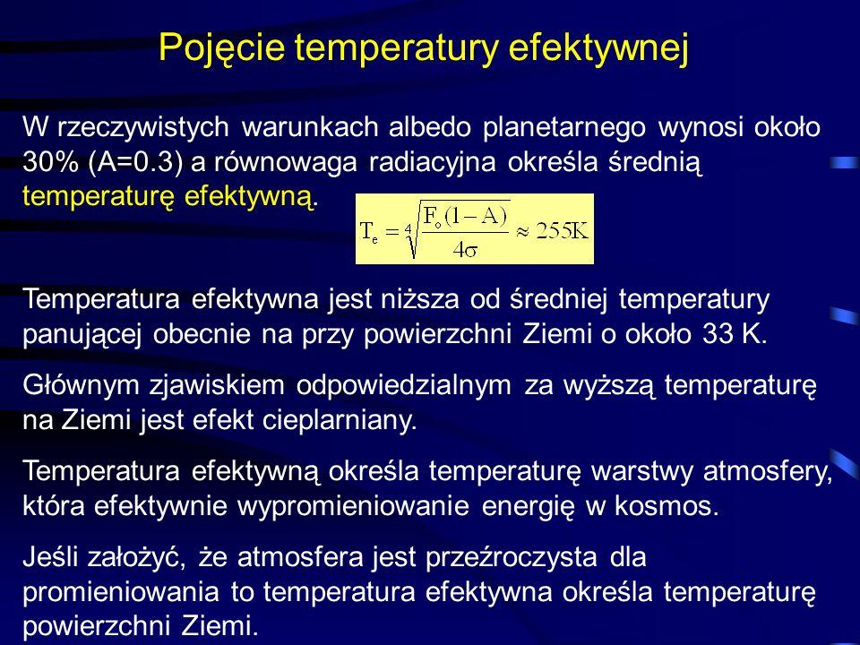 Pojęcie temperatury efektywnej