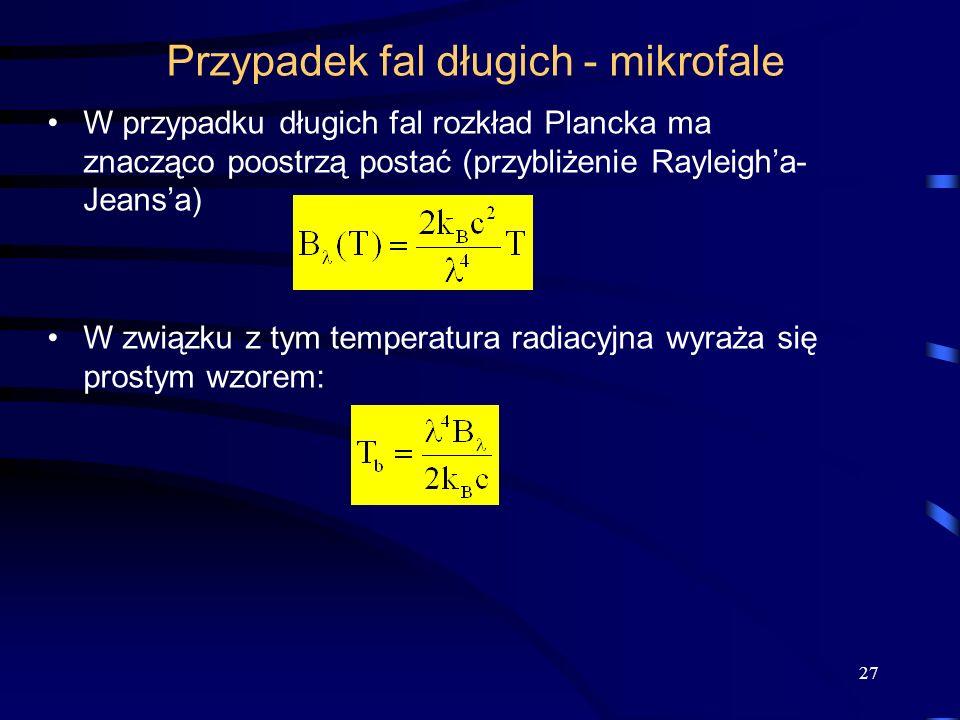 Przypadek fal długich - mikrofale